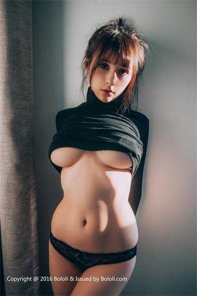 ⭐BOLOLI波萝社⭐夏美酱-2017.03.13BOL029夏美酱黑色诱惑[31P/191MB]插图(1)