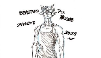 「BEASTARS」第23话宣传绘公开