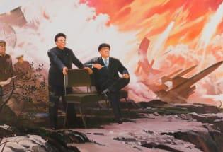 一场引发朝韩两国抗议的艺术展