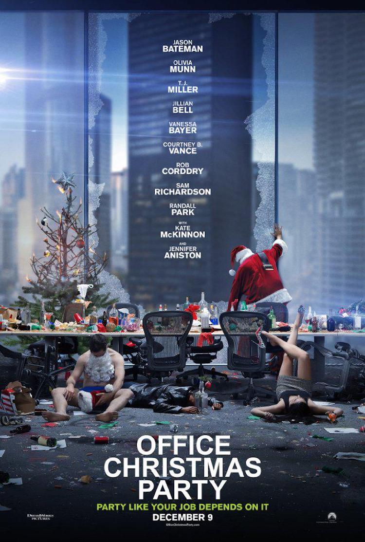 《办公室圣诞派对》评价:纯粹的办公室喜剧,娱乐性充实