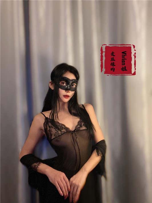 图片[3]-【极品反差婊】推特女神爱丝袜Vivian姐定制版主题系列 – 情趣黑丝炮架子[52P/1V/236MB]-醉四季