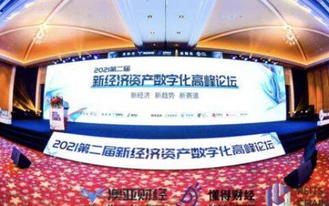 2021第二届新经济资产数字化高峰论坛在海南隆重召开