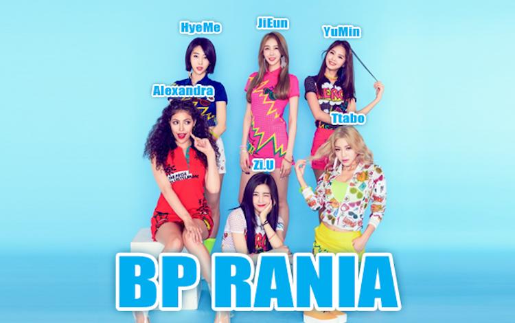 bp rania女团成员资料介绍