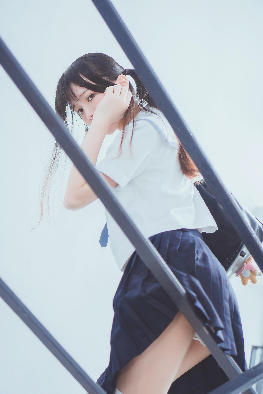 【桜桃喵】桜桃未熟 水手服