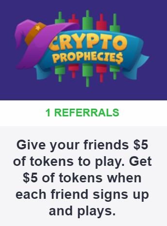Crypto Prophecies:简单注册获取5美元的bTCP令牌空投