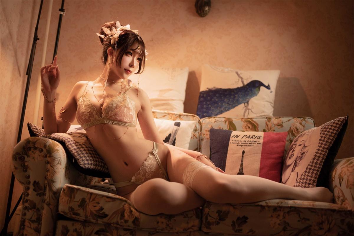 ⭐cos套图⭐Sakiiii翎柒-性感美女@六万粉丝福利三点诱惑插图1