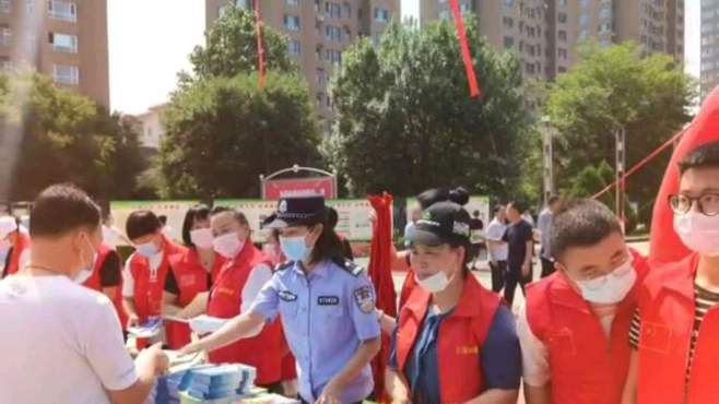 国际禁毒日原平市禁毒宣传活动