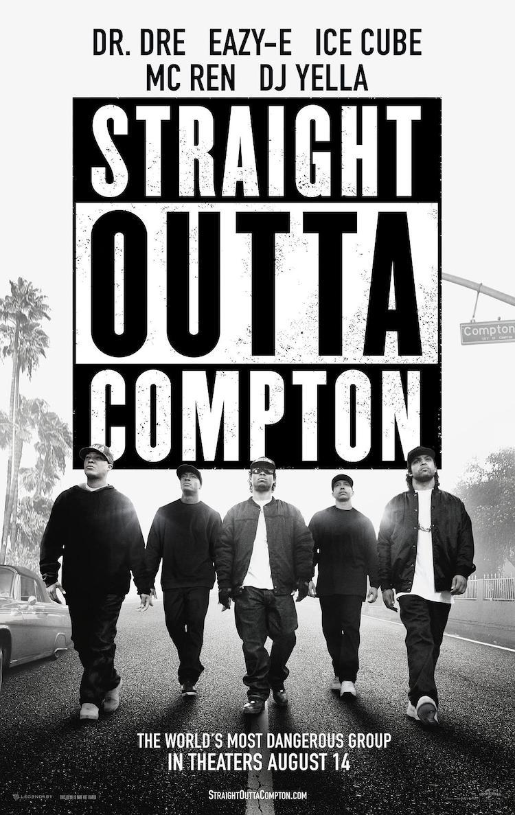 美国音乐电影《冲出康普顿》影评:可能比较适合饶舌音乐歌迷欣赏