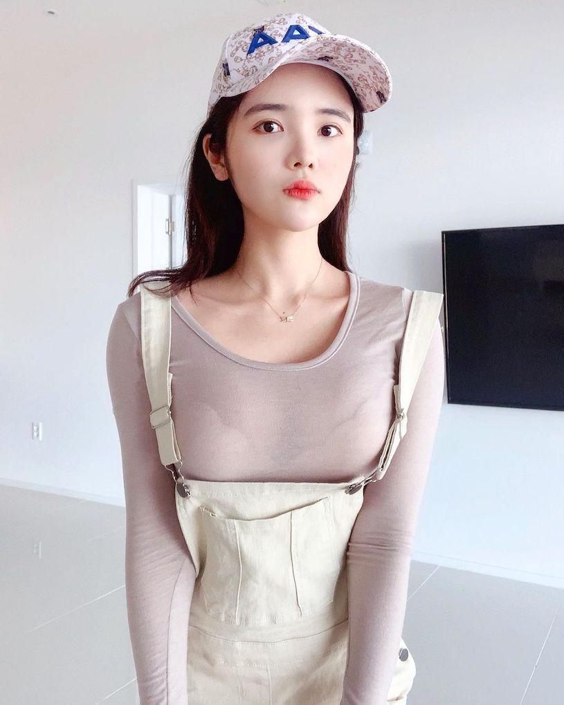 韩国纯情妹子@ 유 주性感图片,蓝色内衣爆乳画面很震撼 文章 第6张