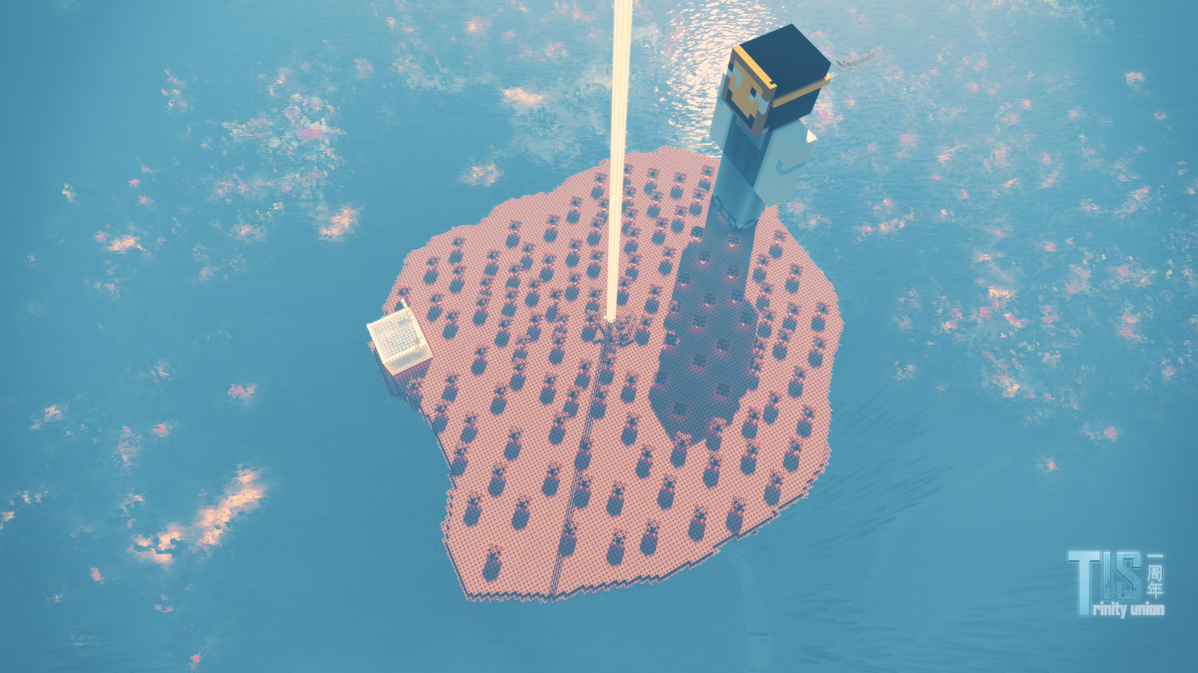 核弹岛 一个由TNT建造成的小岛!