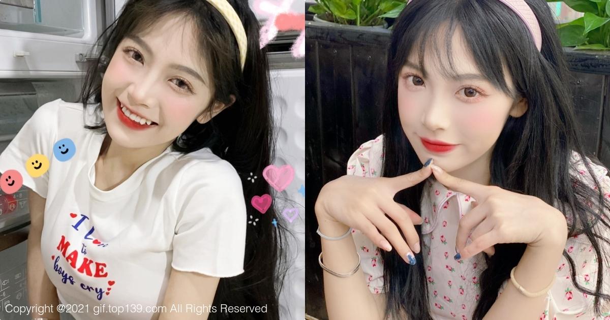 21岁双子座美女,外型太甜美充满着青春感