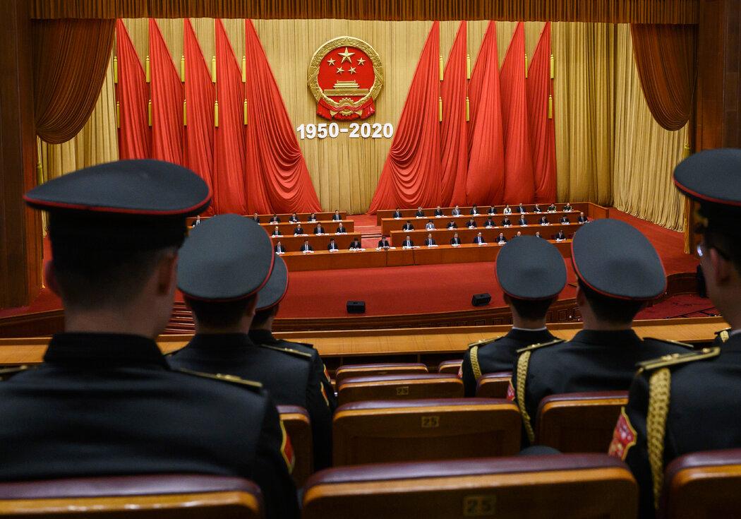 支持者声称,中国的威权体制不仅与西方民主制度不同,而且还证明了其优越性。