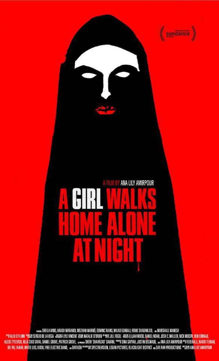 《独自夜归的女孩》电影评价:用音乐主导整部电影的走向,处处可见向经典电影致敬的趣味-爱趣猫