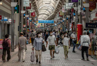 物价持续低迷,日本面临通货紧缩压力