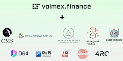 volmex,获得一轮融资,留ETH钱包地址,等待空投惊喜