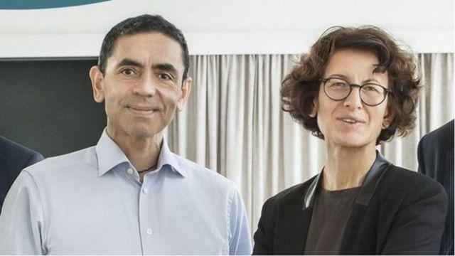 撒辛和图勒奇夫妻领导德国BioNTech的医疗团队(Credit: DISCLOSURE)