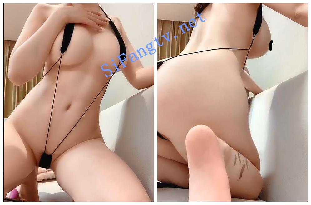 【网红 糯美子】巨乳模特 大尺度露点抠比跳蛋插逼视频7v