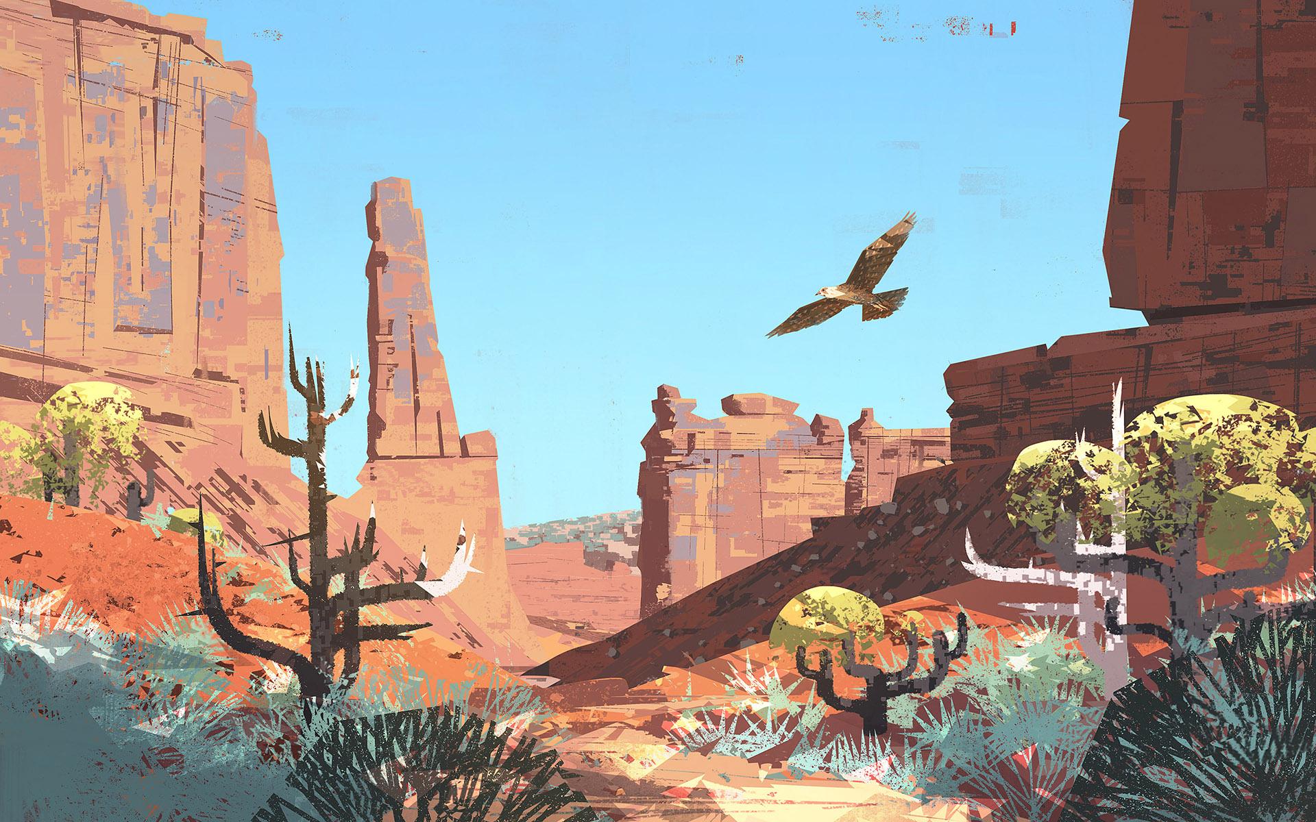 Mike McCain A站的17段精品概念插画绘画教程视频