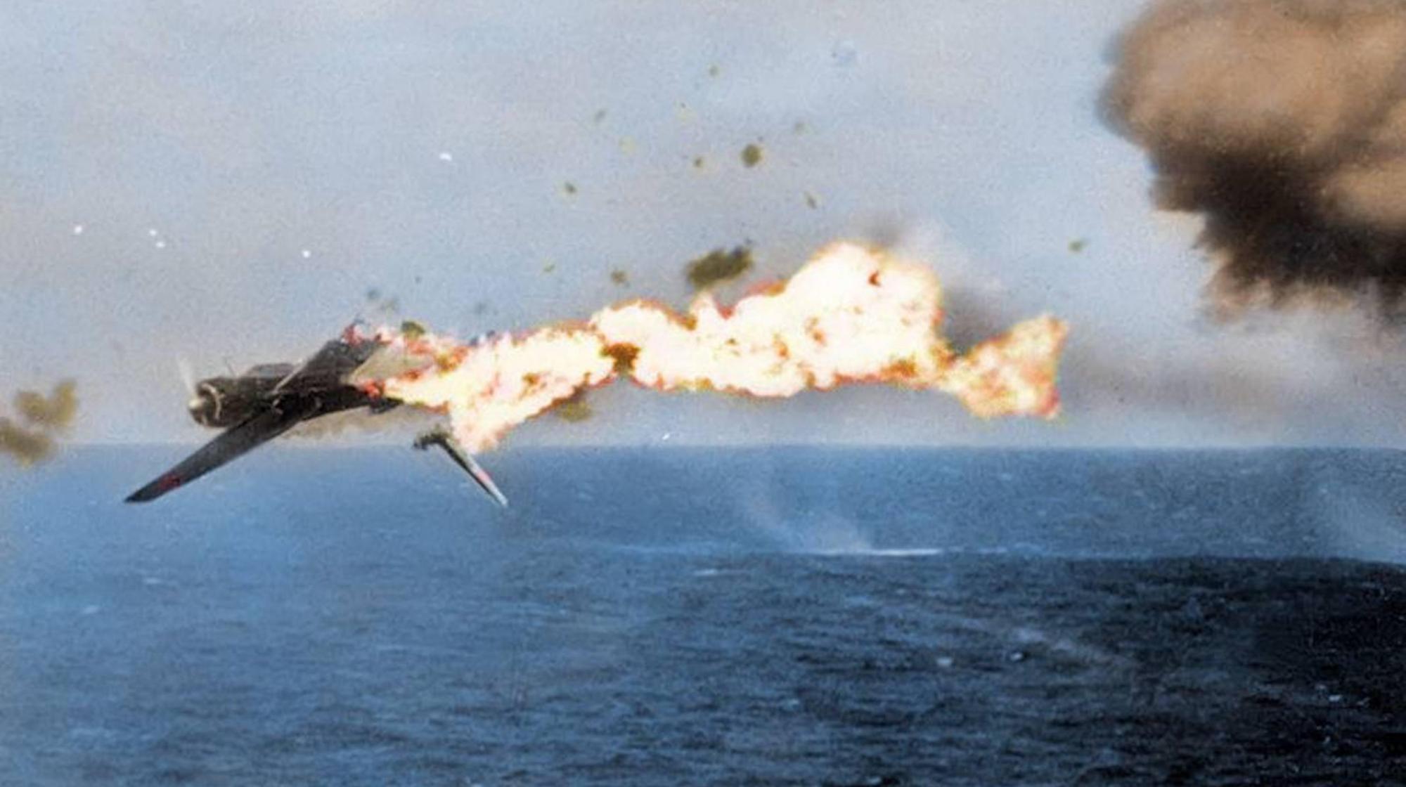 珍贵彩色二战老照片,记录太平洋战场上损失严重的日军