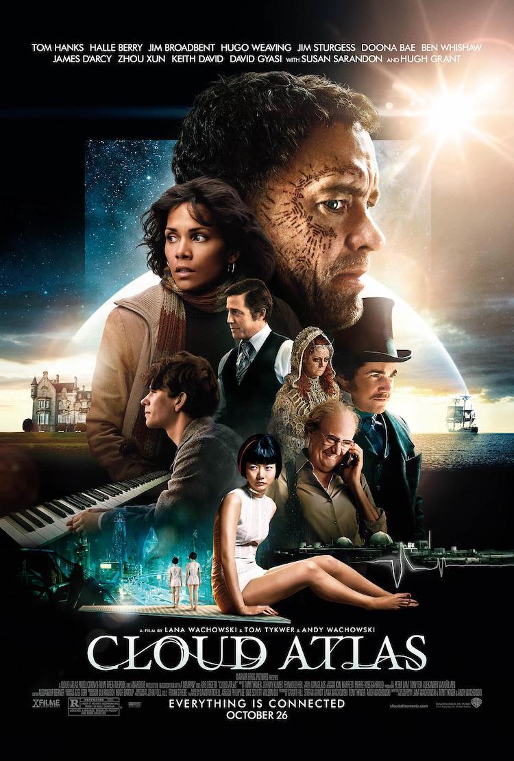 《云图》电影:一个自成宇宙、自己有着自己的彩蛋的精采电影