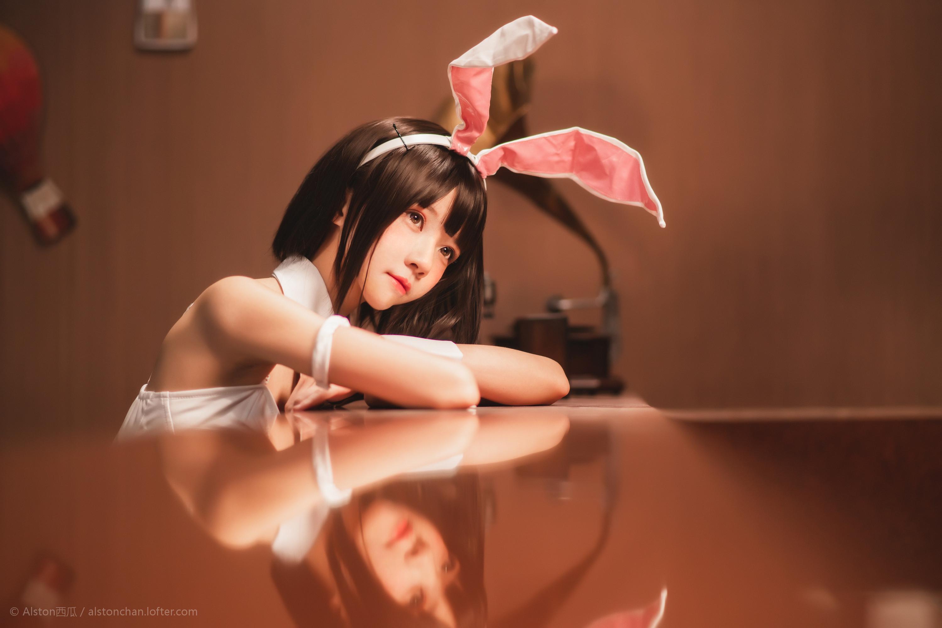 免费⭐微博红人⭐桜桃喵@写真cos-兔女郎(桜桃喵 )插图4