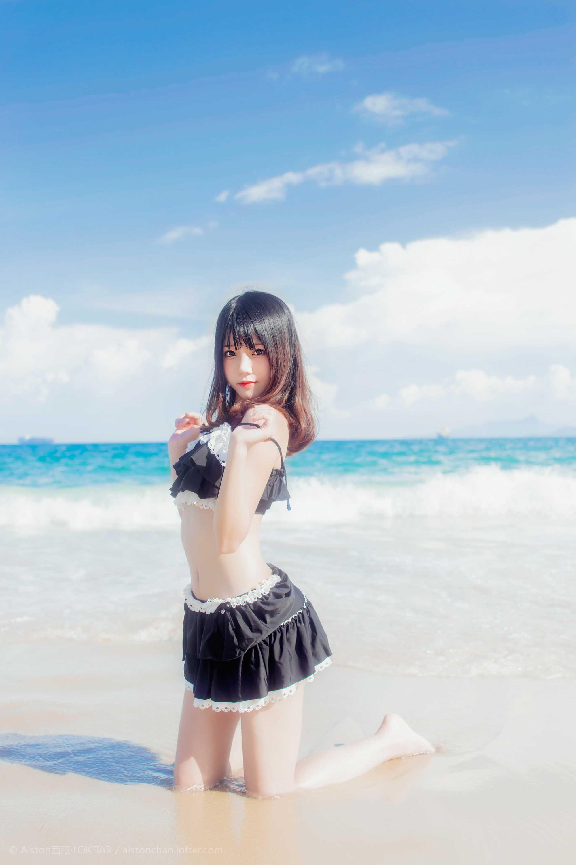 免费⭐微博红人⭐桜桃喵@写真cos-一起去海边吧(桜桃喵)【10P】插图5