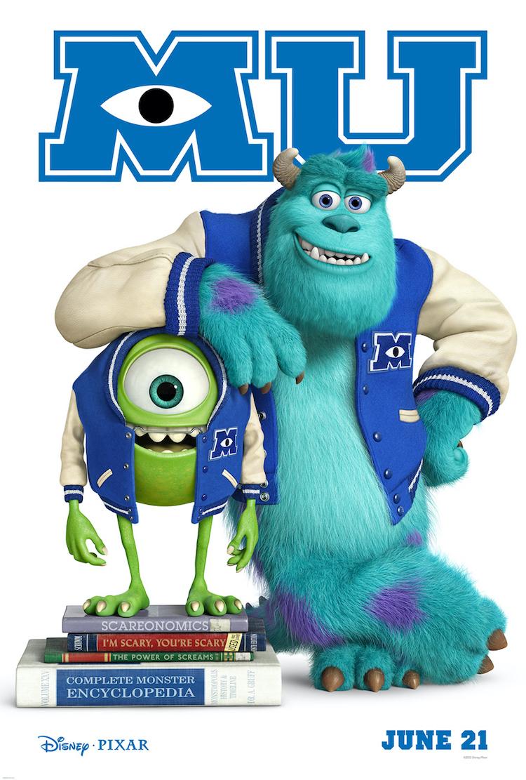 "[pgd670]《怪兽大学》电影影评:把教育真谛隐于动画中,呈现""青出于蓝""的道理-爱趣猫"