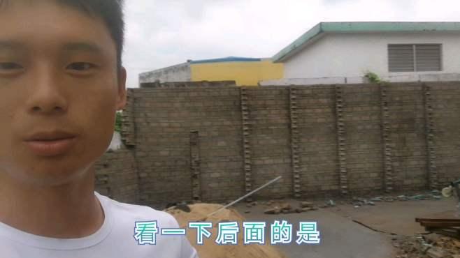 俩位师傅砌筑的一面墙20多平方,用了2000多砖,大家看看怎么样