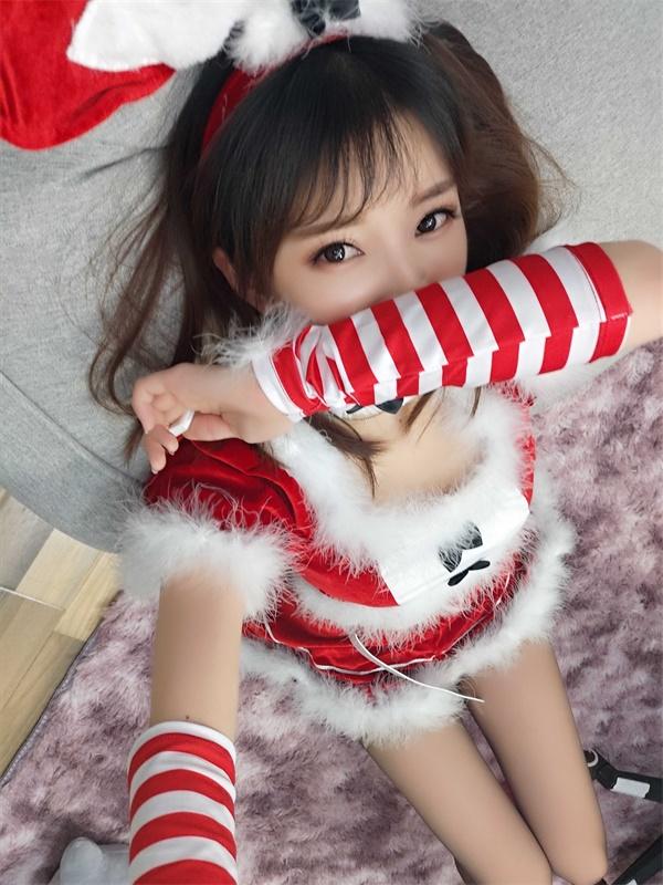 ⭐cos套图⭐女巫露娜-性感美女@NO.003 圣诞兔子[37P-192MB]插图