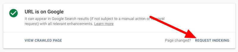 google请求索引恢复2-极客中心