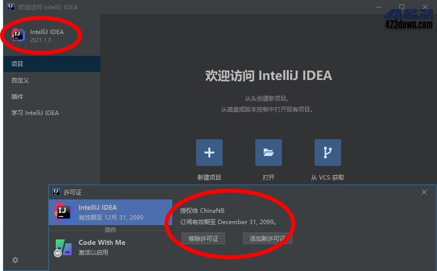 IntelliJ IDEA2021永久激活版
