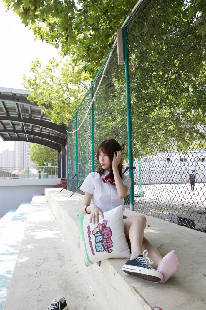 ⭐名站写真⭐物恋传媒-No.156案例猫耳-操场、校服、帆布鞋与船袜[172P/1V/4.31G]插图(1)