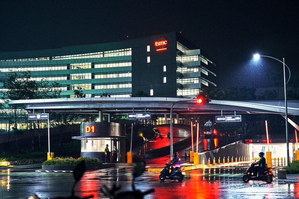 台湾积体电路制造股份有限公司在台湾台南的办公楼。