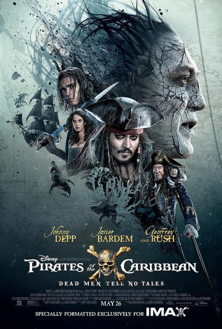 《加勒比海盗5:死无对证》电影观后感,什么才是真正的宝藏?