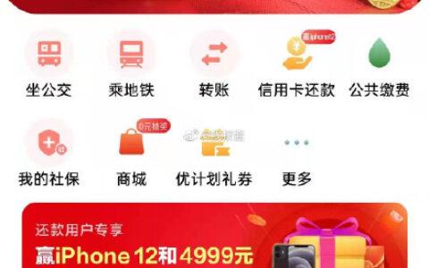 """9:30,云闪付app首页搜贺岁,应用服务""""2021年贺岁银"""