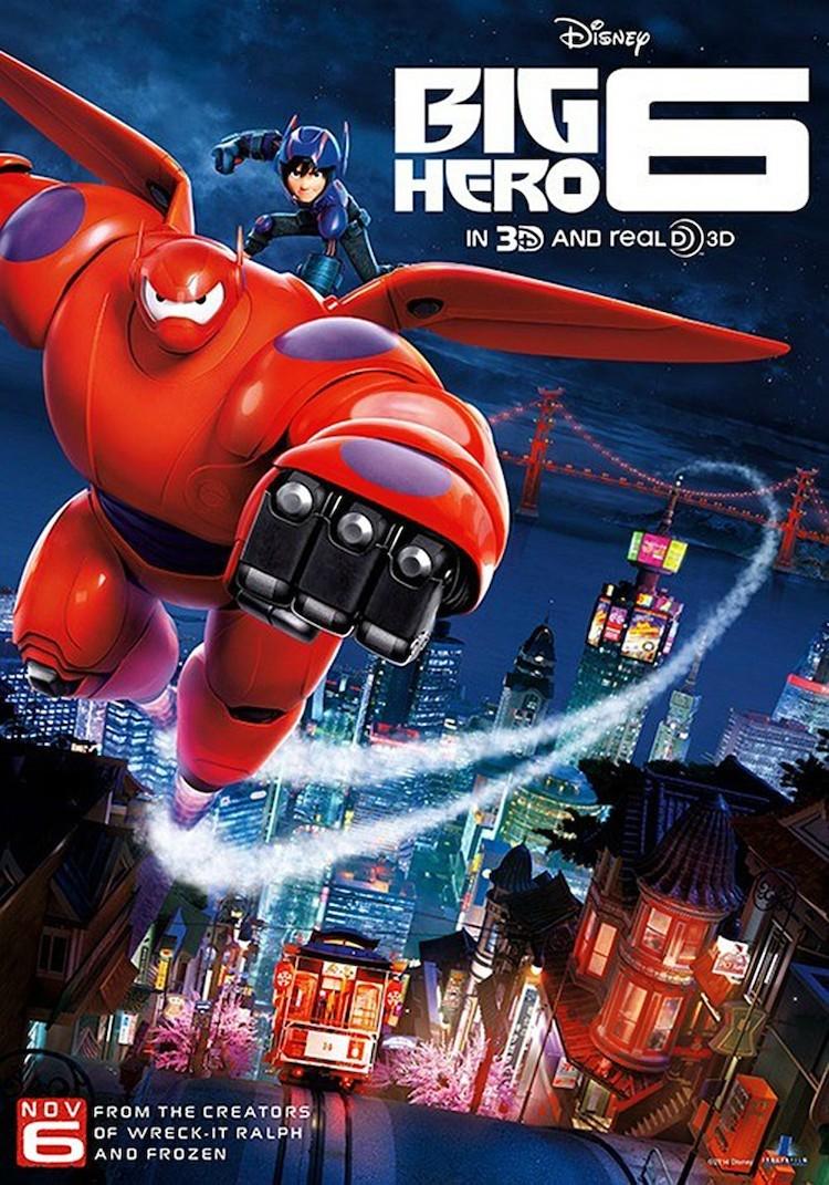 《超能陆战队》(Big Hero 6)电影影评:温柔的力量