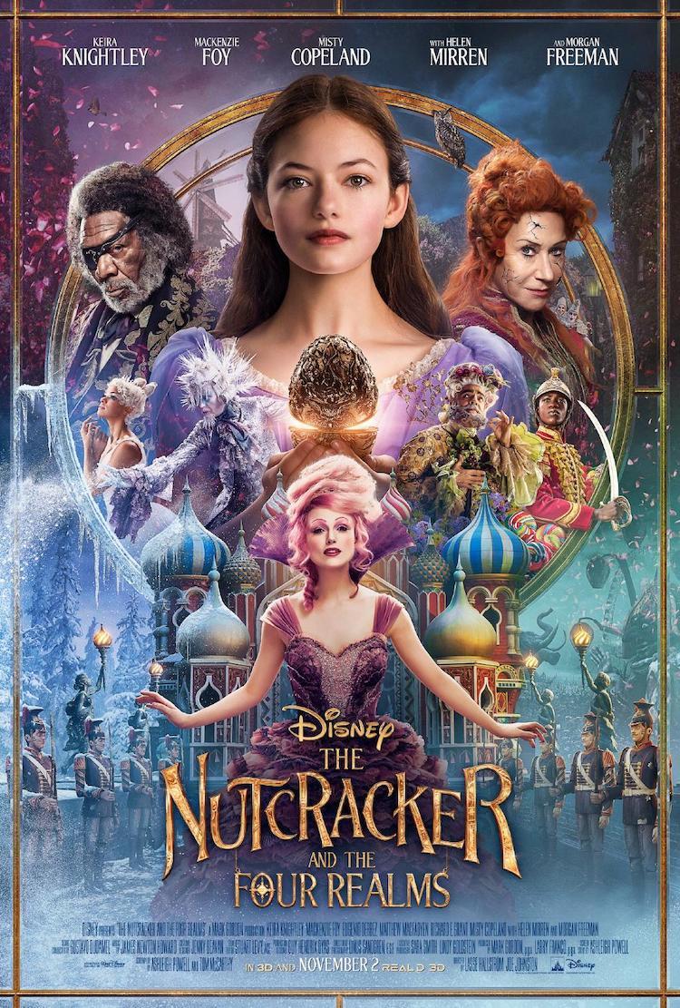 《胡桃夹子和四个王国》电影影评:场景绚丽奇幻,可是少了点惊喜