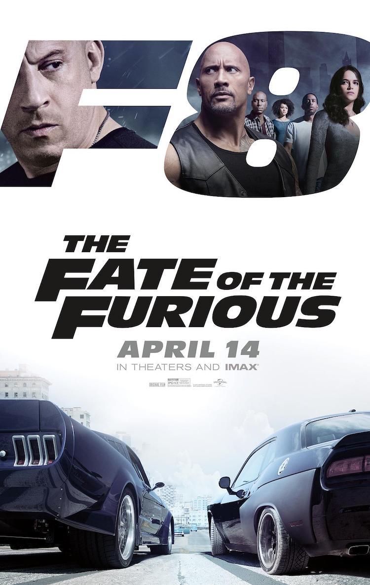 《速度与激情8》电影影评:明是续集电影却依然能维持质感且令人备感欣慰