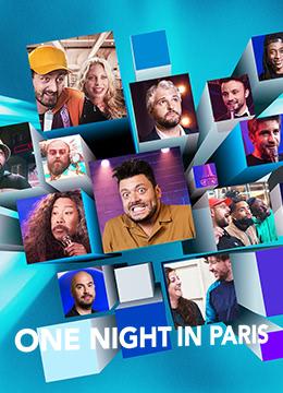 One Night in Paris的海报