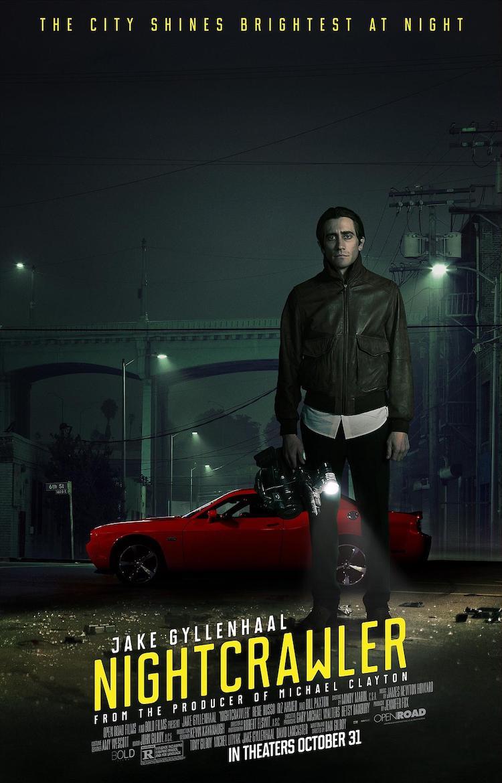 杰克·吉伦哈尔《夜行者》(Nightcrawler)影评:媒体现形记