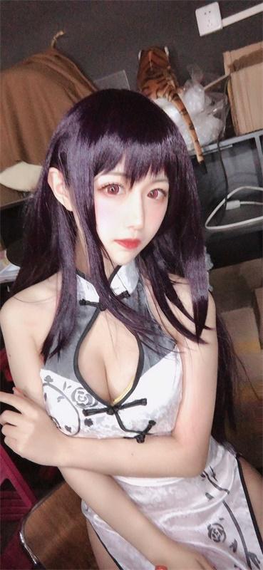 ⭐微博红人⭐Shika小鹿鹿-清纯美女@学姐旗袍【13P/151MB】插图2
