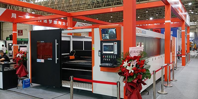 完美收官│武汉双成激光精彩亮相2020中国国际机电产品展览会(图4)