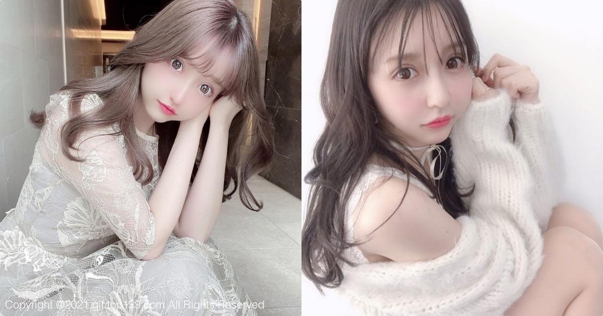 甜美日本女孩「yuunaa」甜美可爱充满了梦幻感
