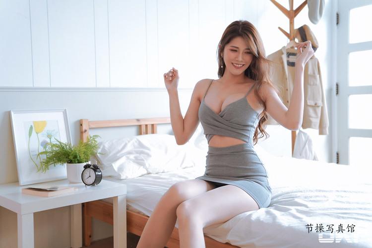 长腿美女Joanna沐沐写真图片,挡不住的神级美腿