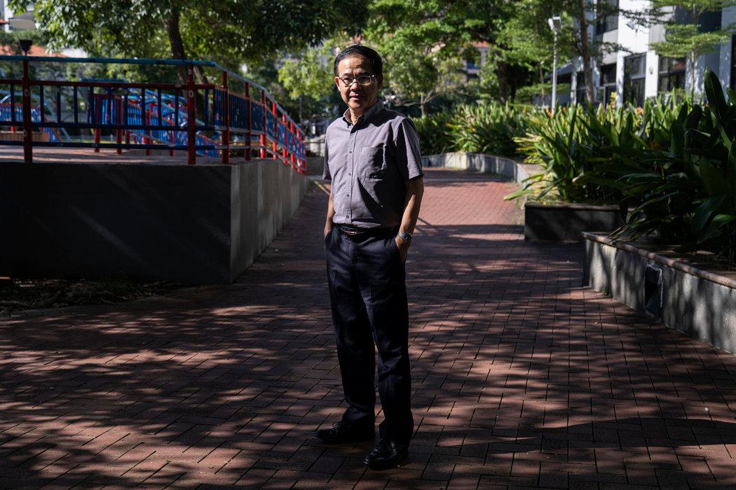 上周,王林发在新加坡。