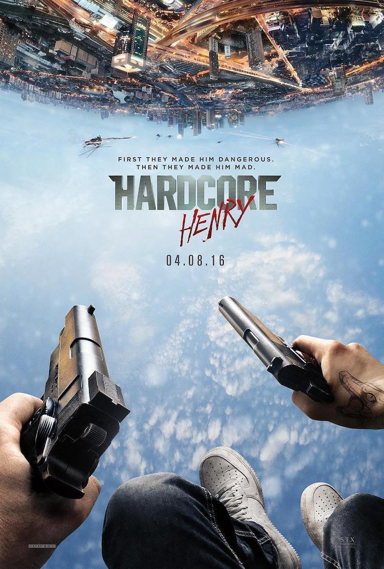 《硬核亨利/硬核大战/硬汉亨利》影评:剧情单薄,仍是一部可观的动作电影