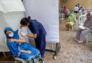 美国宣布向全世界各地捐赠疫苗
