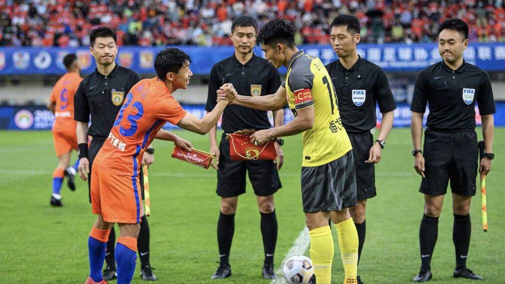 山东泰山新队长霸气喊话,必须击败所谓的强队,没信心别进世界杯