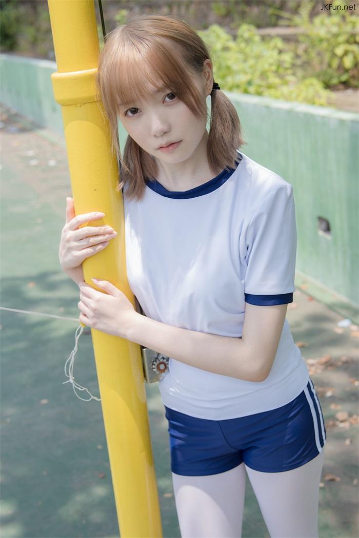 ⭐视频⭐森萝财团-JKFUN-019@80D白丝外景体操服Aika