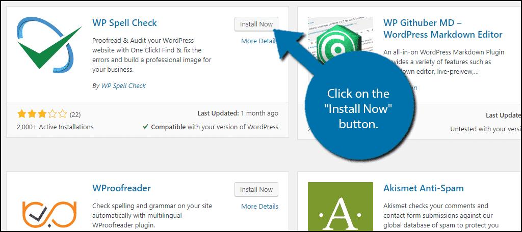 如何在WordPress博客上安装拼写检查插件